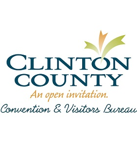 Clinton County Convention & Visitors Bureau Logo