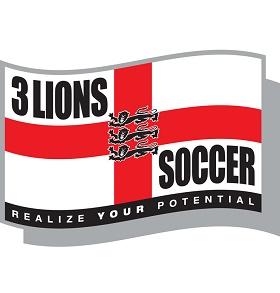3 Lions Soccer Logo