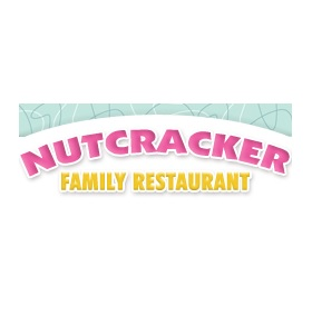 Nutcracker 50s Family Restaurant Logo