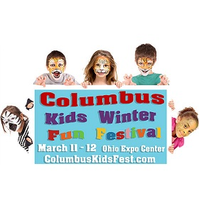 Columbus Kids Winter Fun Festival Logo