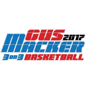 Gus Macker 3 on 3 Basketball Tournament Logo
