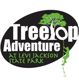 Treetop Adventure at Levi Jackson Logo