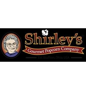 Shirley's Gourmet Popcorn Company Logo