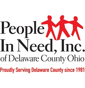 People In Need, Inc. of Delaware County Ohio Logo