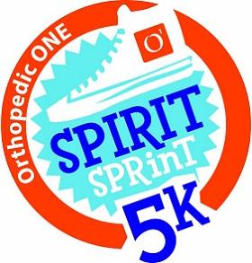 Orthopedic ONE Presents: The 10th Annual Spirit Sprint 5K Logo