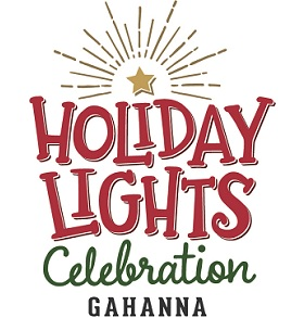 Gahanna Holiday Lights Logo