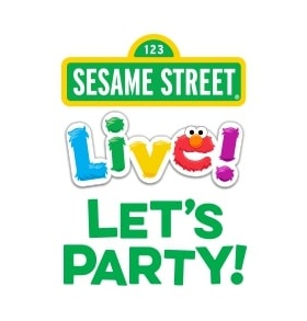 Sesame Street Live! Let's Party Logo