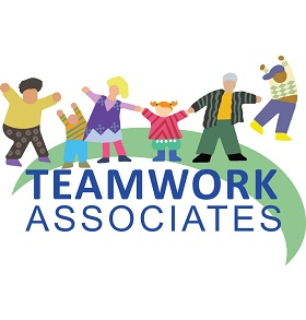 Teamwork Inflatables & Fundraising Logo
