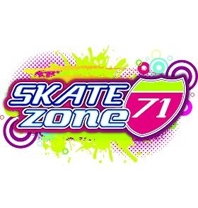 Skate Zone 71 Logo