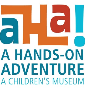 AHA! A Hands-On Adventure A Children's Museum Logo