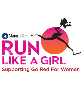 Ultrafit-USA / Run Like A Girl Cbus Logo