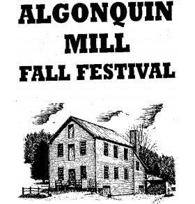 Algonquin Mill Fall Festival Logo