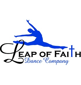 Leap of Faith Dance Company Logo