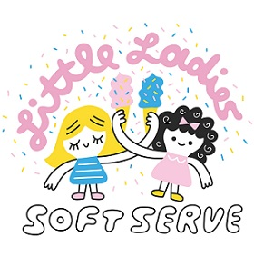 Little Ladies Soft Serve Logo
