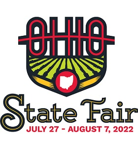Ohio State Fair, July 24 - August 4 Logo