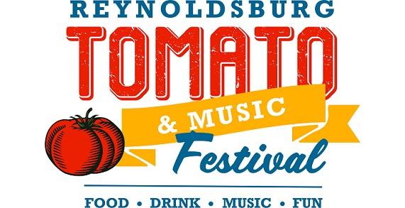 Reynoldsburg Tomato & Music Festival Logo