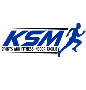 KSM Sports and Fitness Indoor Facility Logo