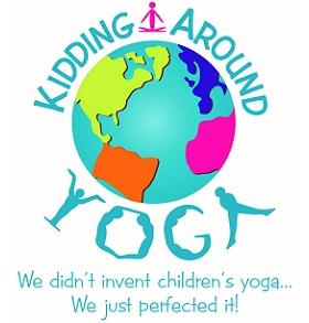 Kidding Around Yoga with Miss Amanda Logo