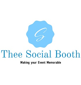 Thee Social Booth Logo