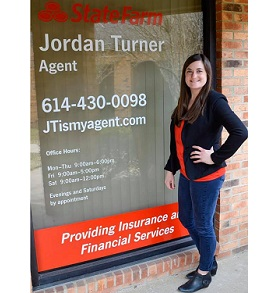 Jordan Turner State Farm Logo