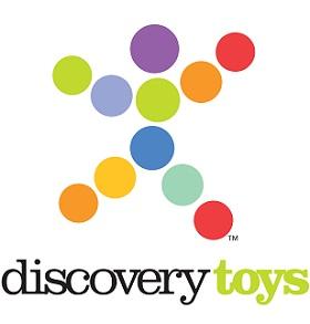Jen Glenn at Discovery Toys Logo