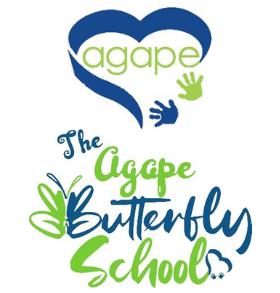 Agape Academy/Agape Butterfly School Logo