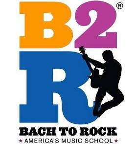 Bach to Rock - Powell, America's Music School Logo